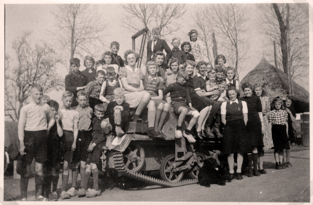 Tank 's-Heerenbroek 14 april 1945